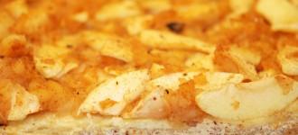 Apfel-Tarte mit Ricotta