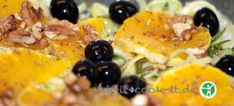 Orangen-Fenchel-Salat-basisch