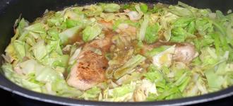 Haehnchenbrustfilet-mit-Spitzkohl