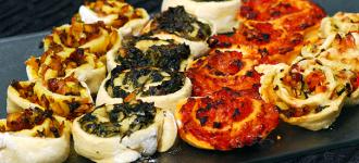 Pizza-Schnecken