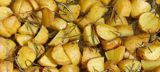 Rosmarin-Ofenkartoffeln
