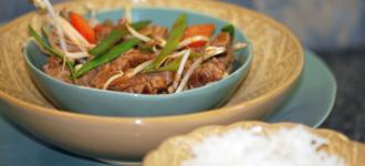 Wok-Gemüse-mit-Rindfleisch
