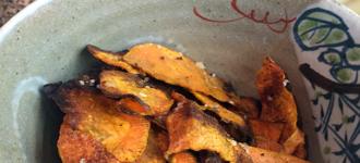 Chips-aus-Süßkartoffeln