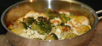 Basisch Frittata-mit-Broccoli