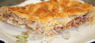 Sauerkraut-Pie