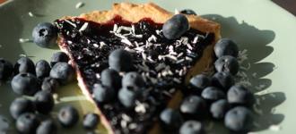Rosarias-Blaubeer Torte