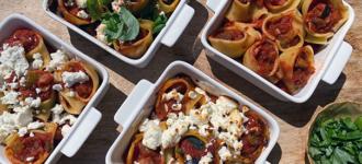 Überbackene-Pasta-Muscheln
